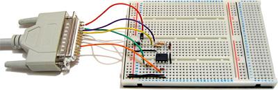 SPI flash memory programmer