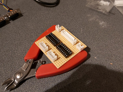 Rough component placement prior to soldering
