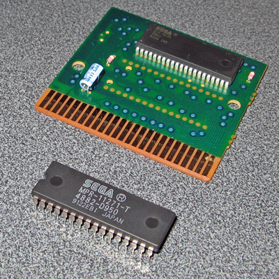 Removing the old masked ROM chip